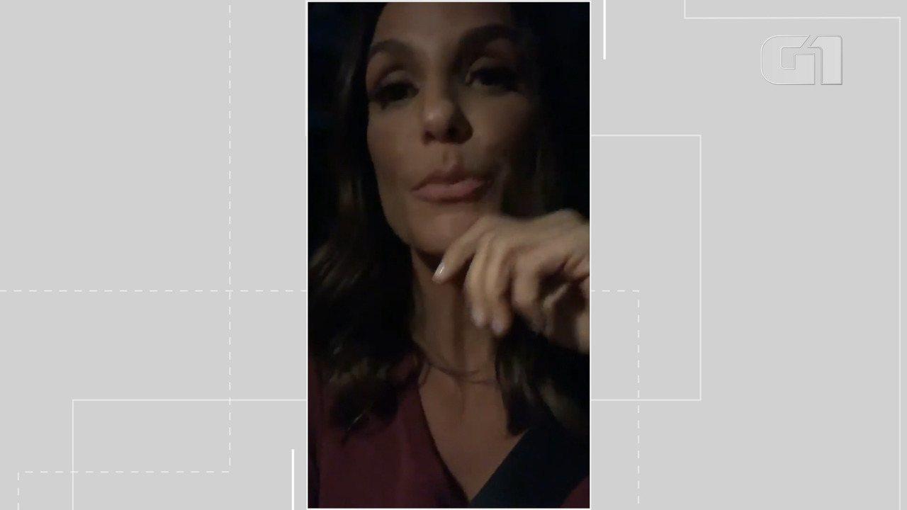 Ivete Sangalo faz vídeo onde lamenta a morte da artista Fernanda Young