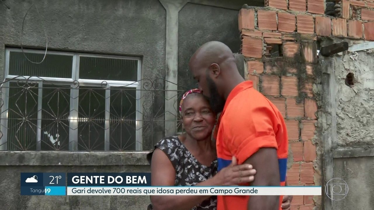 Gari devolve R$ 700 que idosa perdeu em Campo Grande