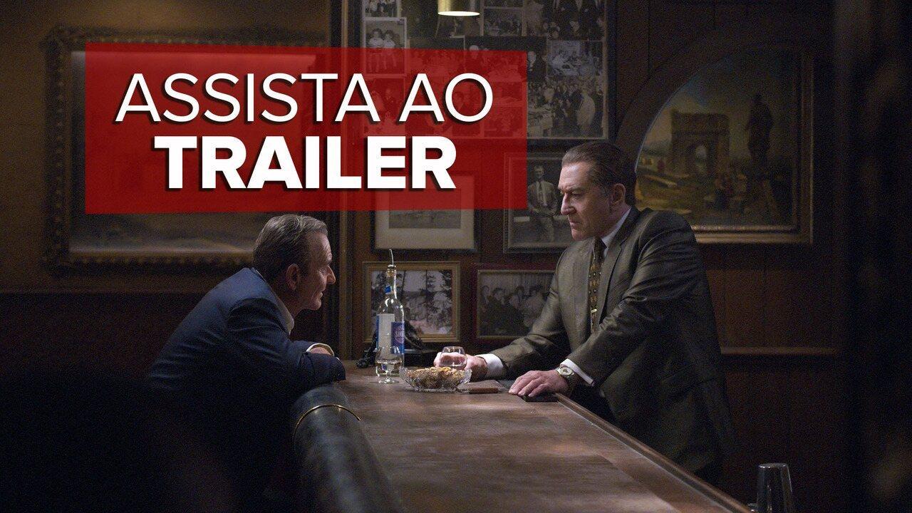 'O irlandês': assista ao trailer