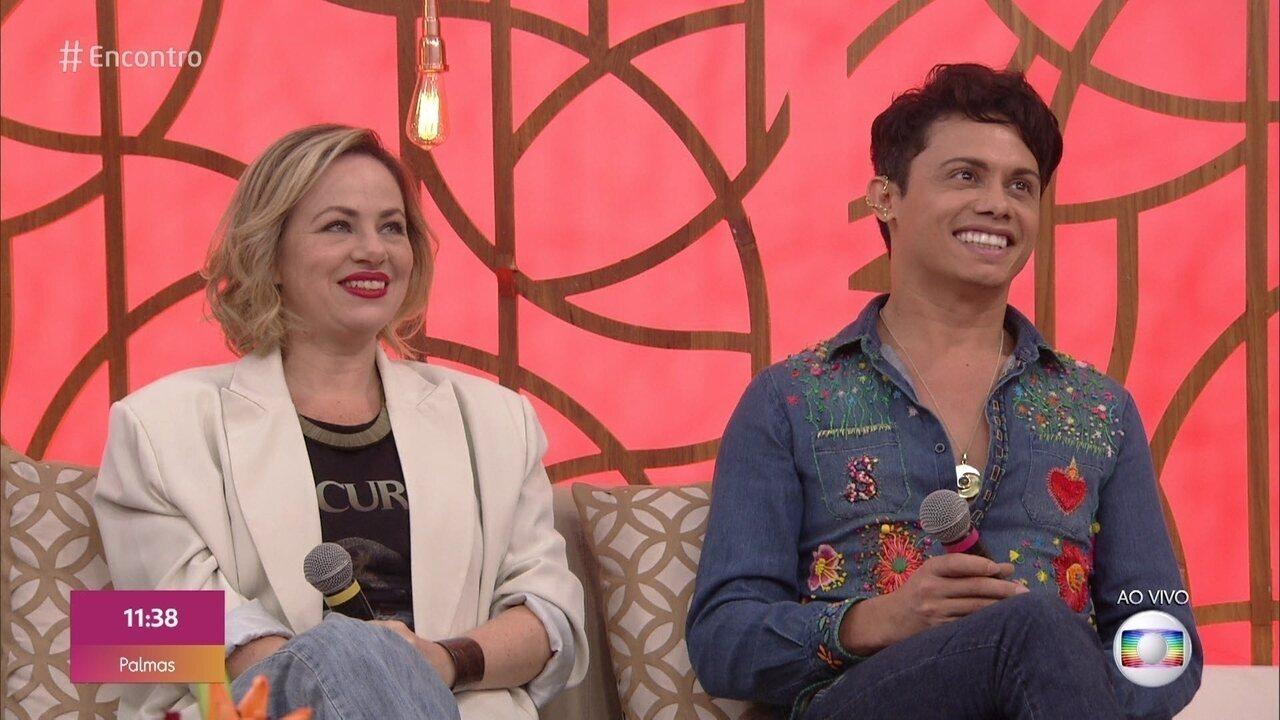 Silvero Pereira e Karine Telles estão no elenco de 'Bacurau'