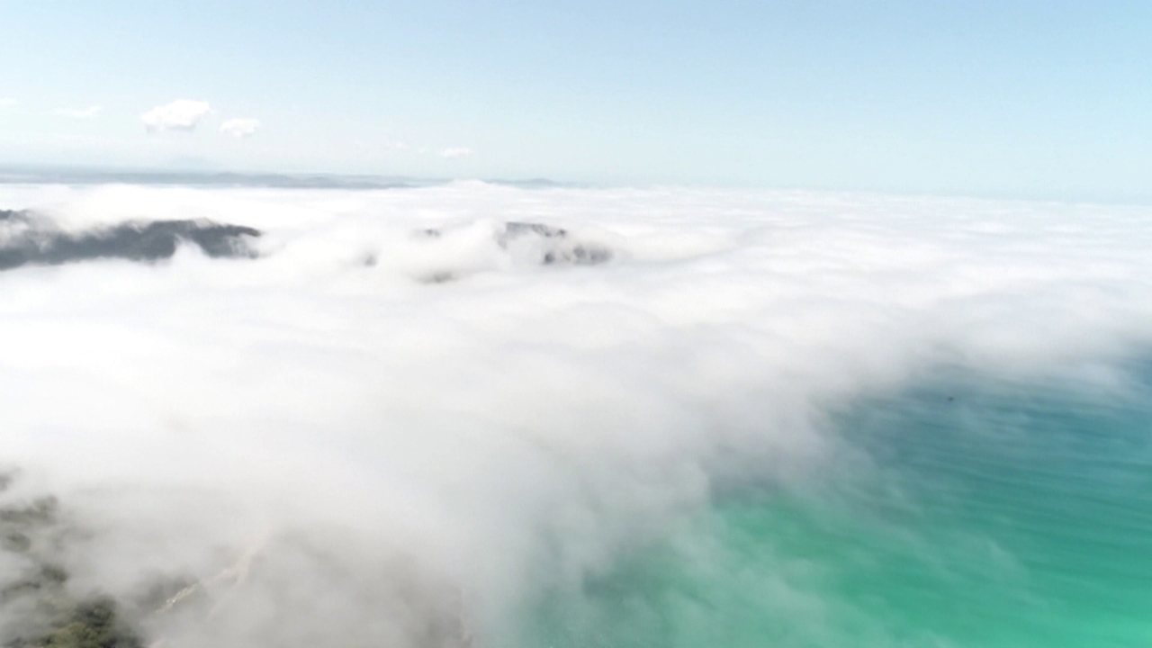 Nuvem vira lenda na Região dos Lagos, no RJ