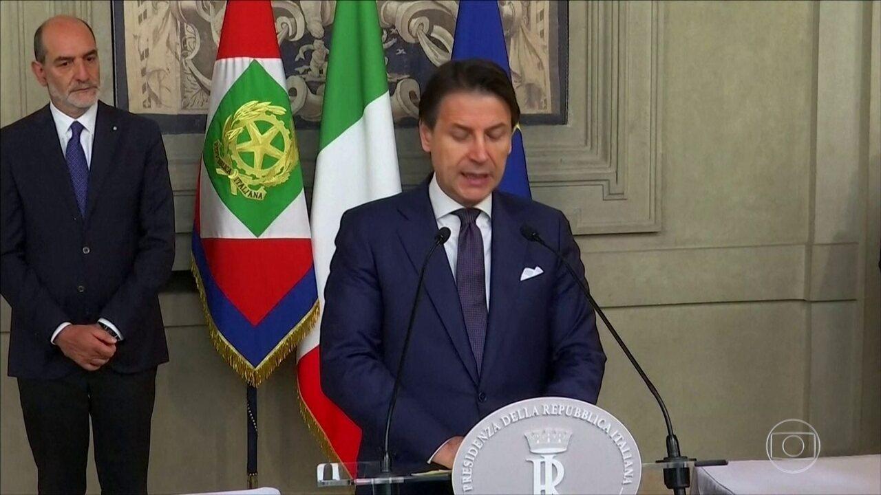 Itália firma acordo entre partidos que antes eram rivais
