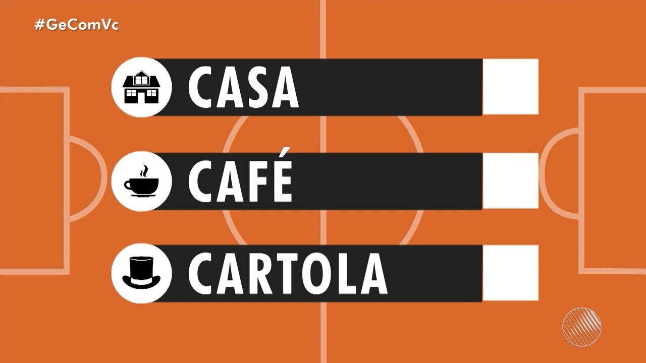 'Casa, Café e Cartola': confira dicas para montar o seu time