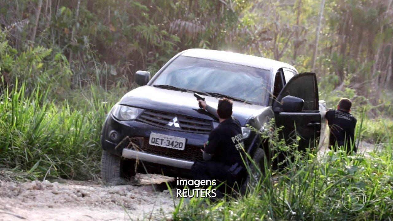 Agentes federais são atacados durante operação para combater queimadas no Pará