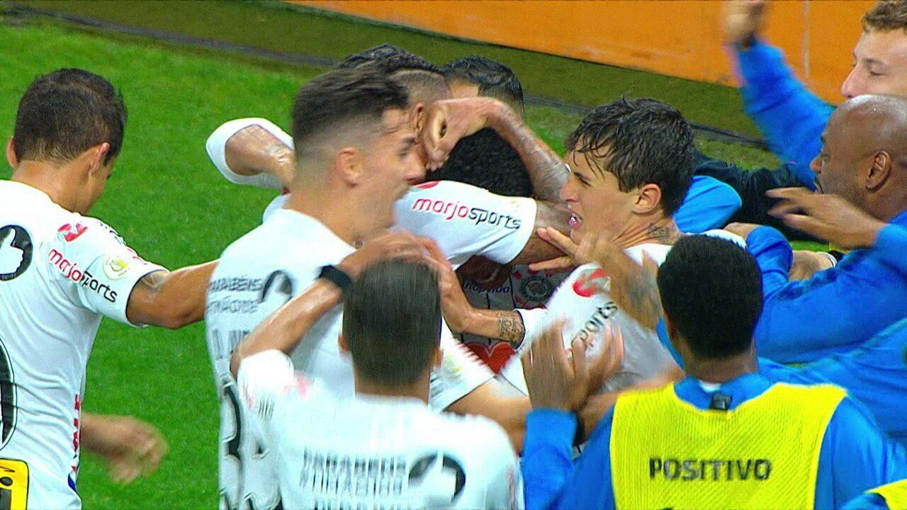 Melhores momentos de Corinthians 1 x 0 Atlético-MG pela 17ªrodada do Campeonato Brasileiro
