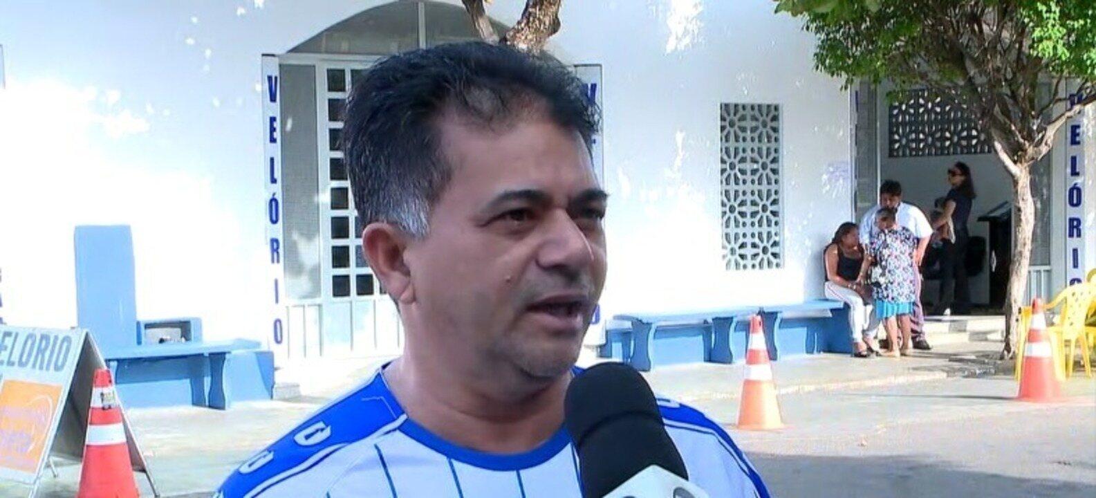 Corpo do ex-vice-presidente do Parnahyba é aguardado para sepultamento no litoral