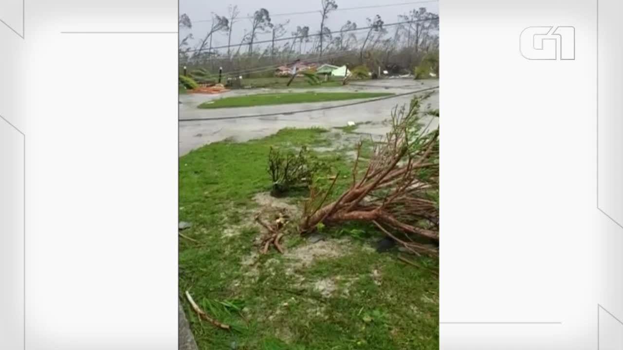 Furacão Dorian causa destruição em várias regiões de Bahamas
