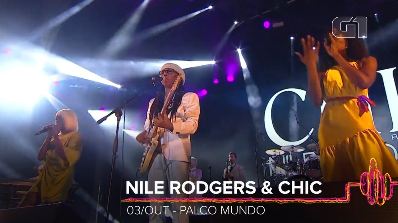 Nile Rodgers & CHIC: Como será o show no Rock in Rio 2019?