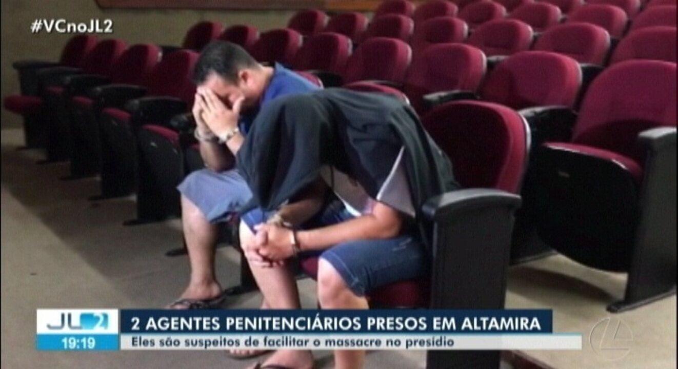 Polícia prende agentes penitenciários que teriam envolvimento com massacre em Altamira
