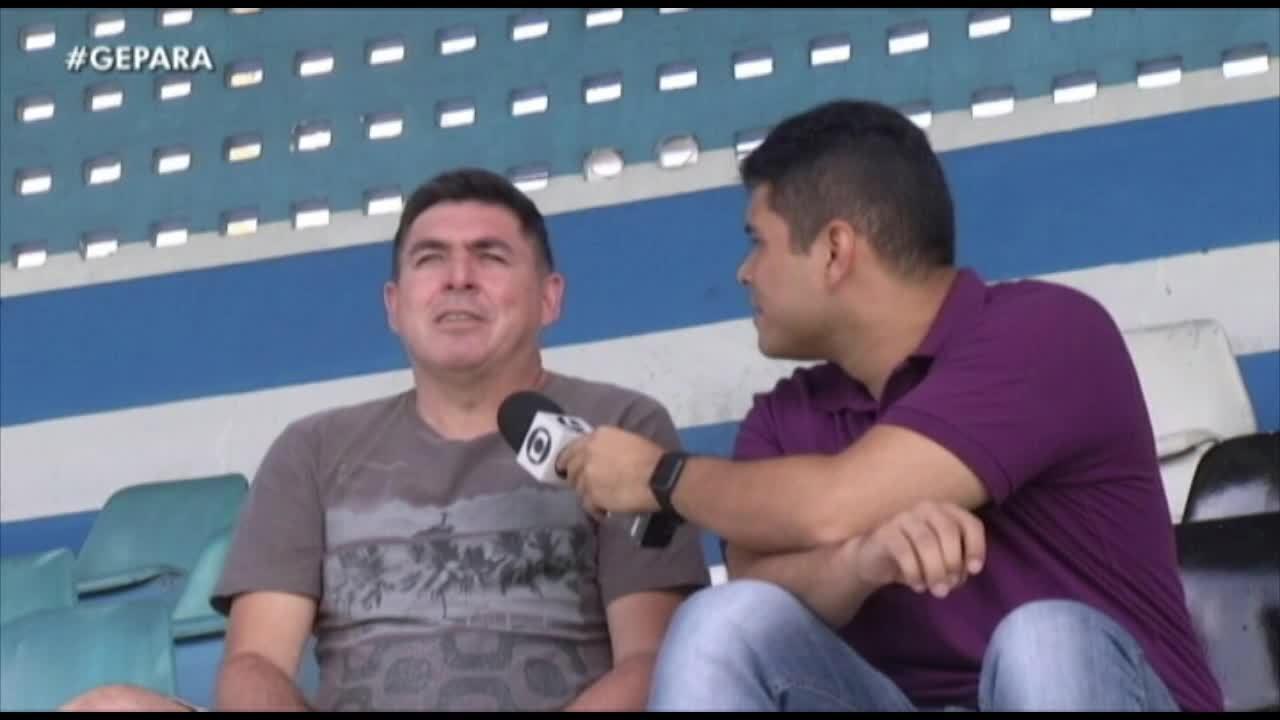 Revelado no Náutico, Robgol relembra momentos marcantes pelo Paysandu