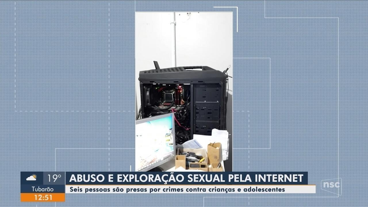 Operação Luz da Infância 5 realiza prisões em Santa Catarina