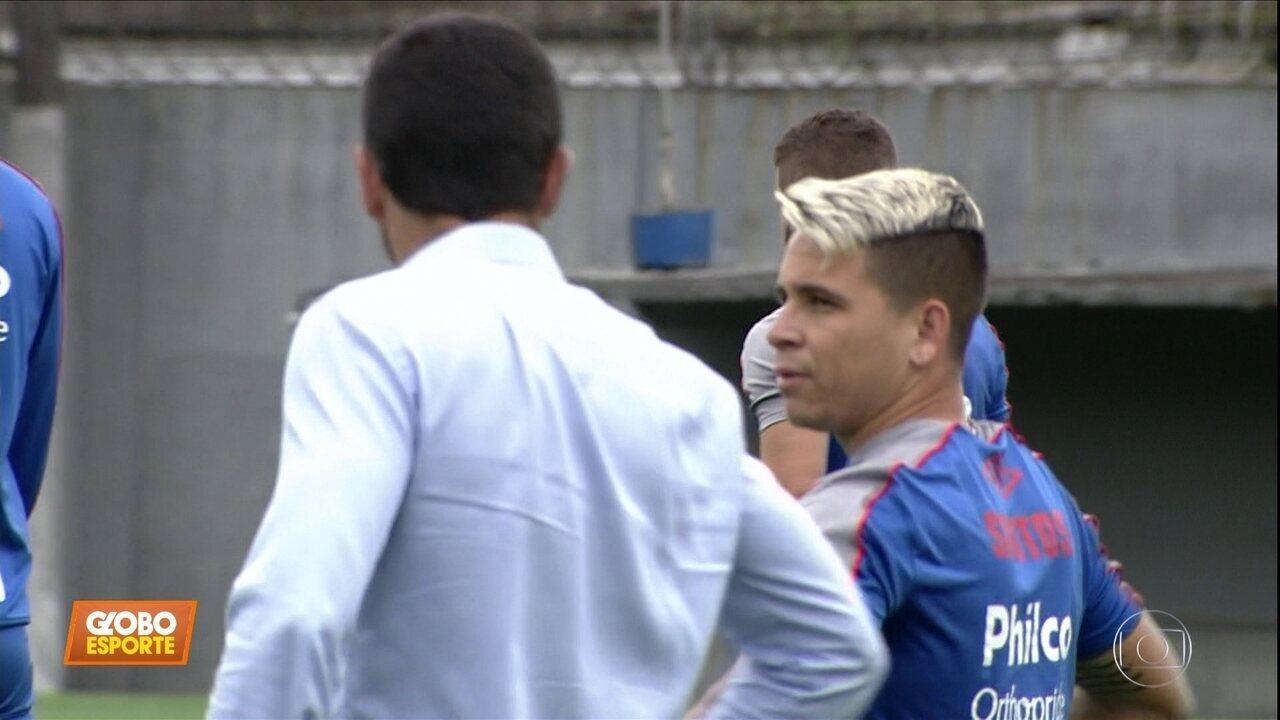 Veja as informações do Santos no Globo Esporte de hoje