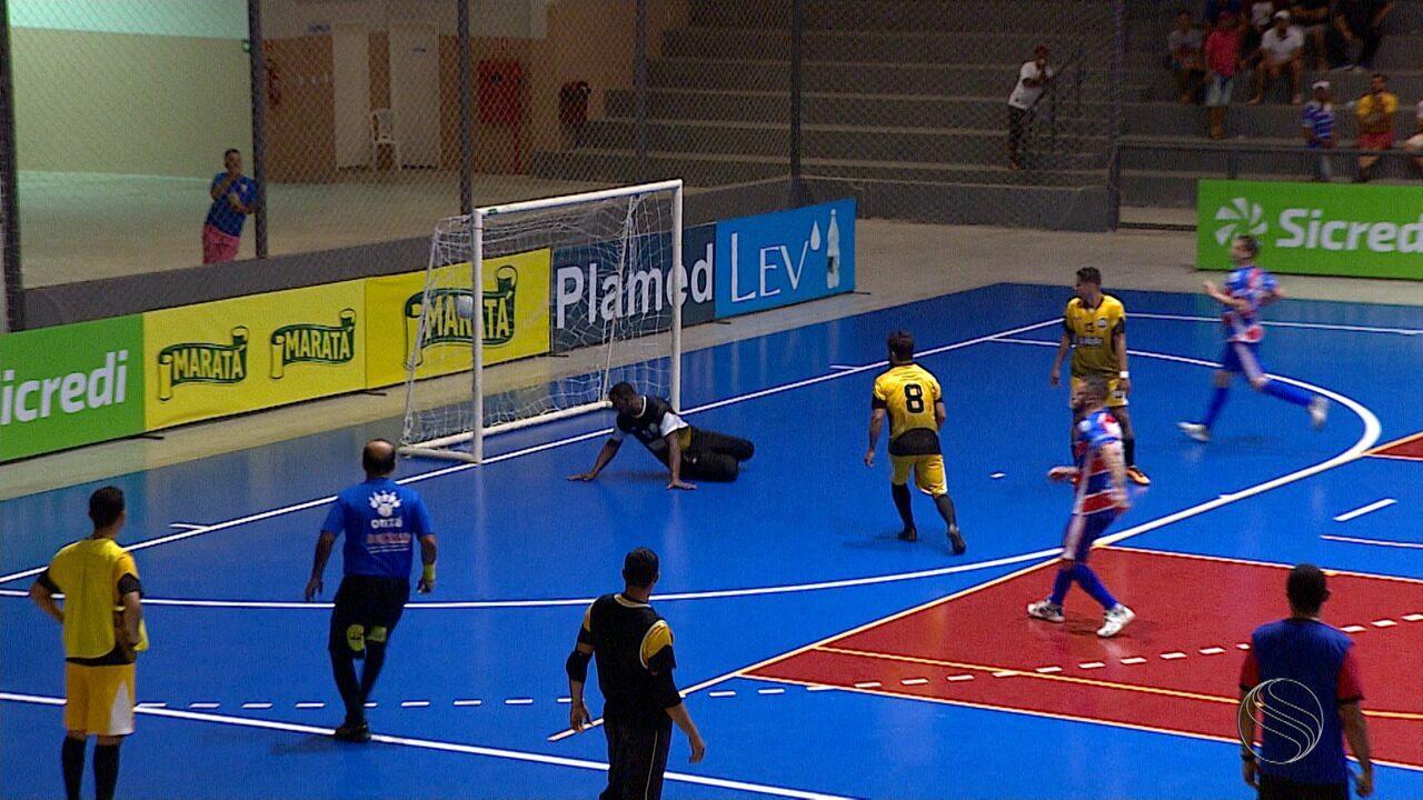 Itabaiana estreia com vitória diante de Siriri na Copa TV Sergipe de Futsal
