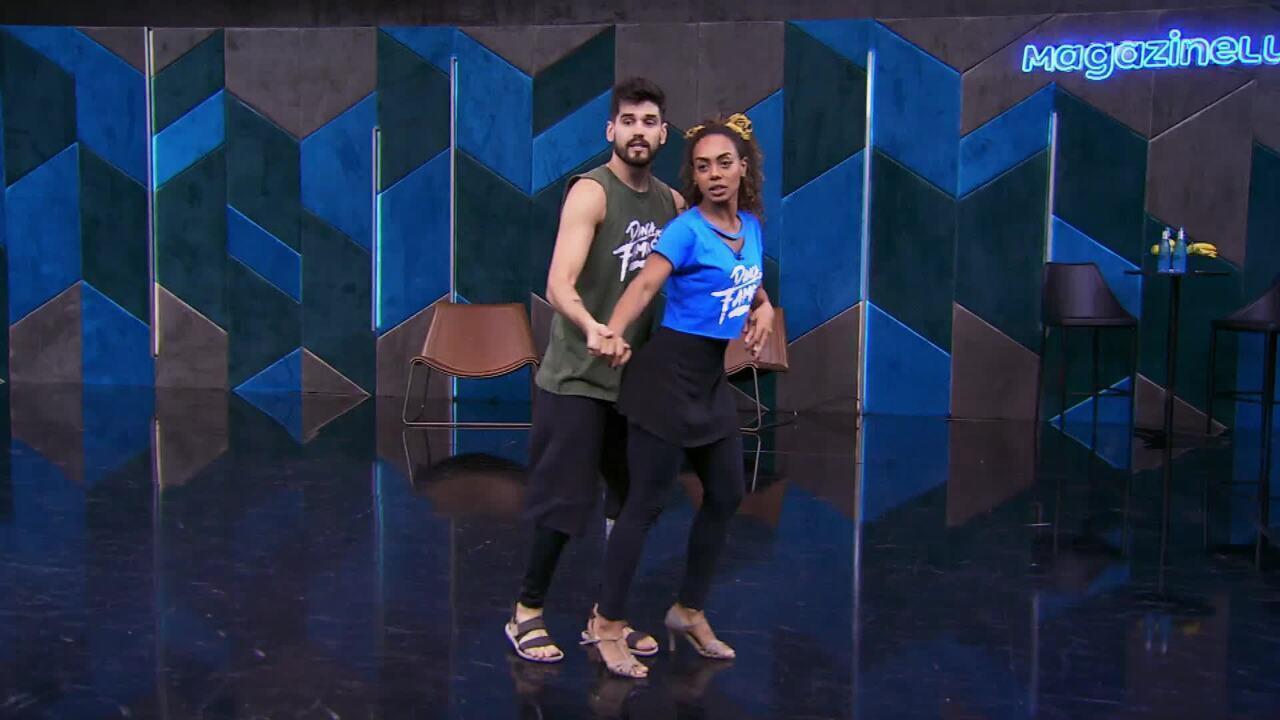 Veja o ensaio de Dandara Mariana com Daniel Norton no 'Dança dos Famosos' no forró
