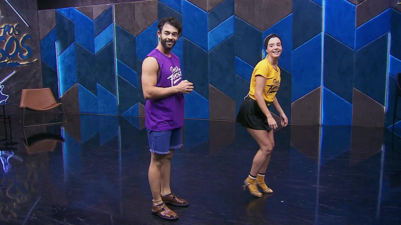 Veja o ensaio de Giovanna Lancellotti com Daniel Navarro no 'Dança dos Famosos' no forró