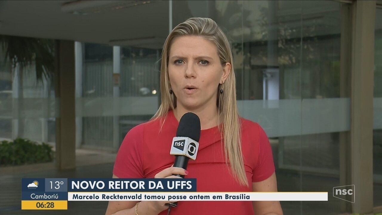 Reitor nomeado por Bolsonaro para UFFS toma posse em cerimônia em Brasília
