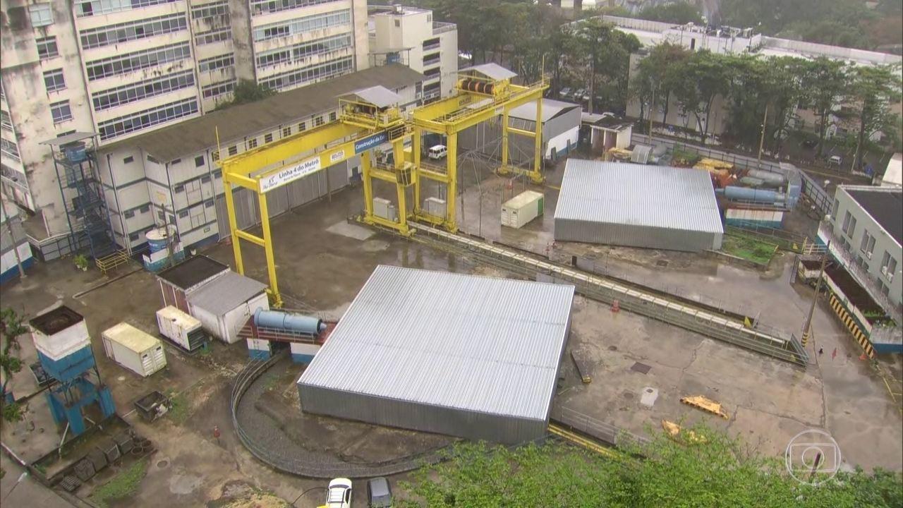 Governo do RJ confirma que vai aterrar a estação do metrô no bairro da Gávea