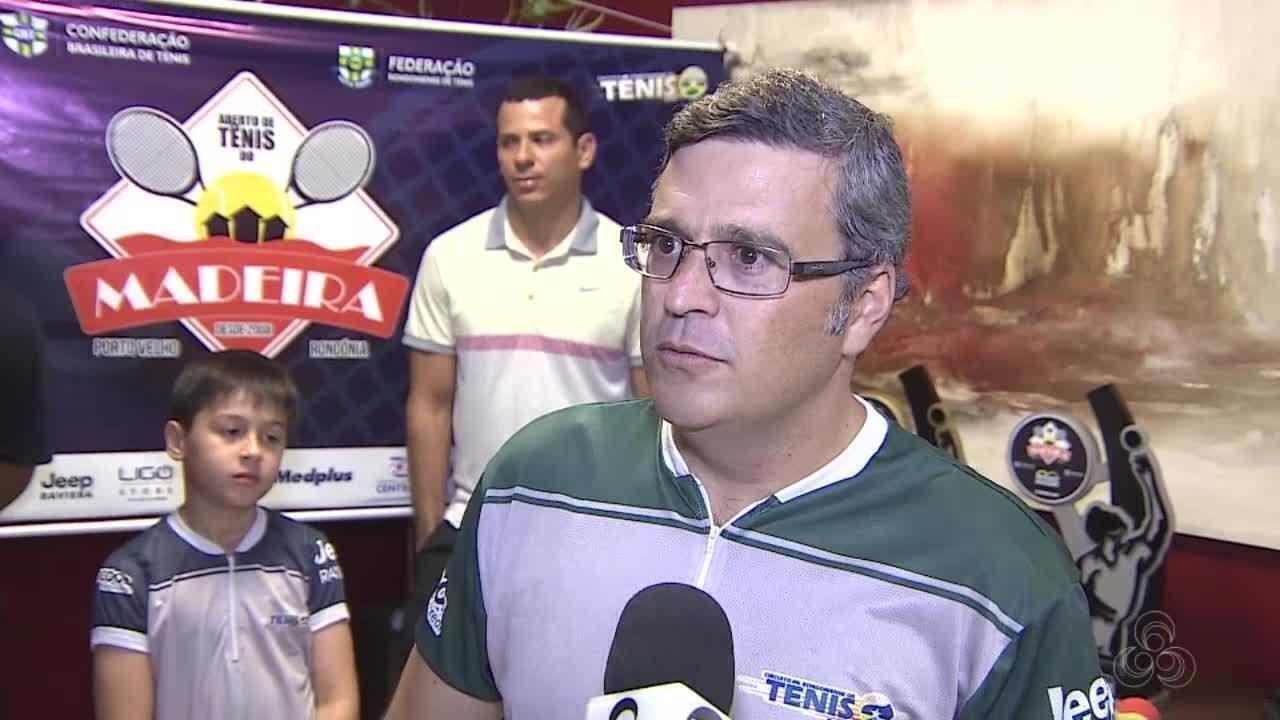 Competição nacional de tênis acontece em Porto Velho