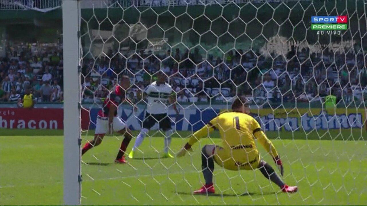 Confira os melhores momentos de Coritiba 1x2 Atlético-GO, pela 21ª rodada da Série B