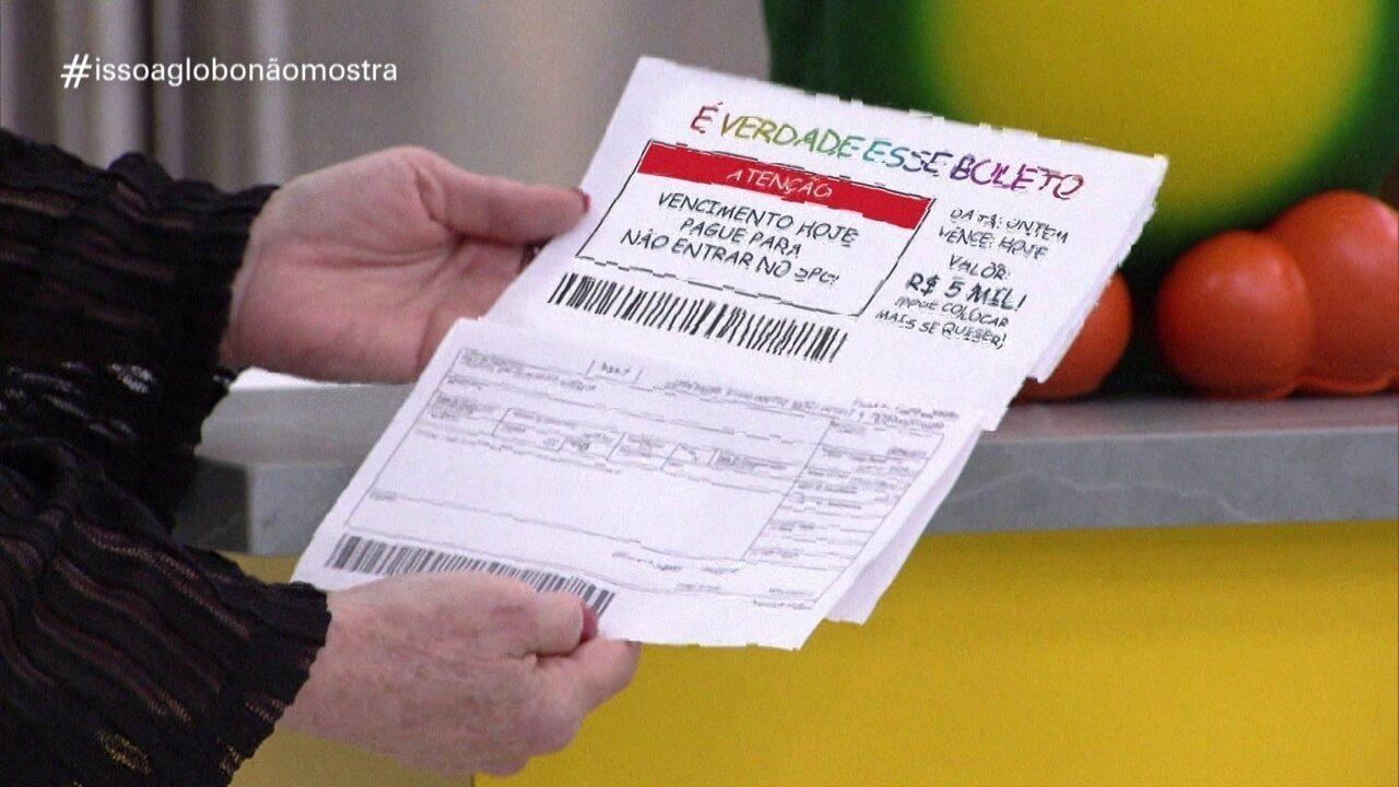 'Isso a Globo Não Mostra' #34: boleto
