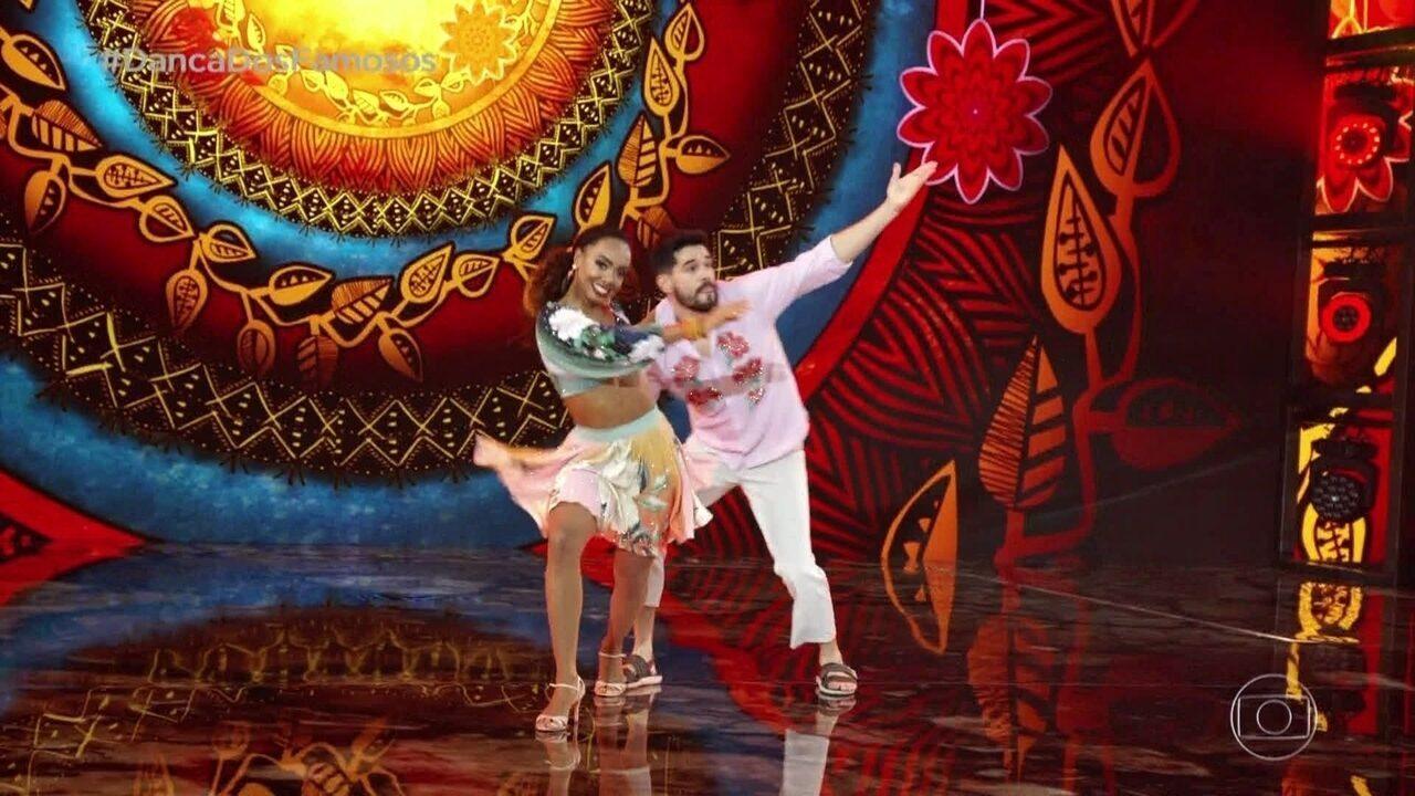 Dandara Mariana dança com Daniel Norton