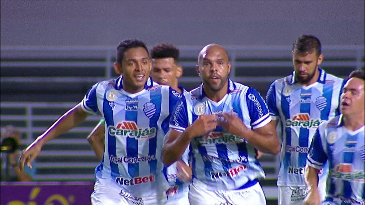 Gols de CSA 2 x 0 Chapecoense, pela 18ª rodada do Campeonato Brasileiro Série B