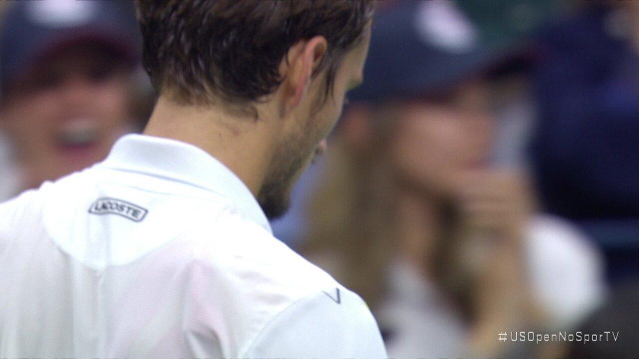 Pontos finais de Rafael Nadal 3x2 Daniil Medvedev pela final do Us Open