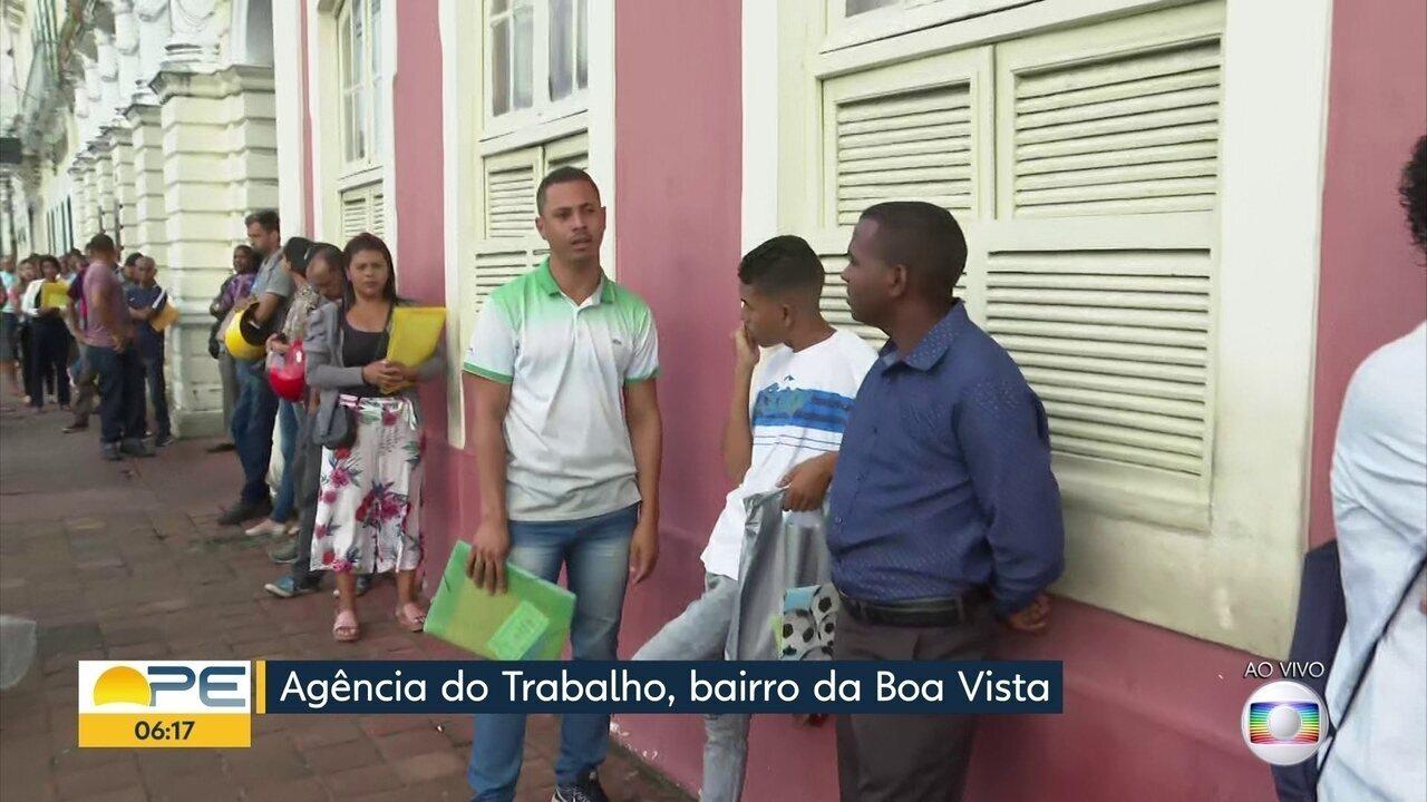 Confira as vagas de emprego em Pernambuco nesta segunda (9)