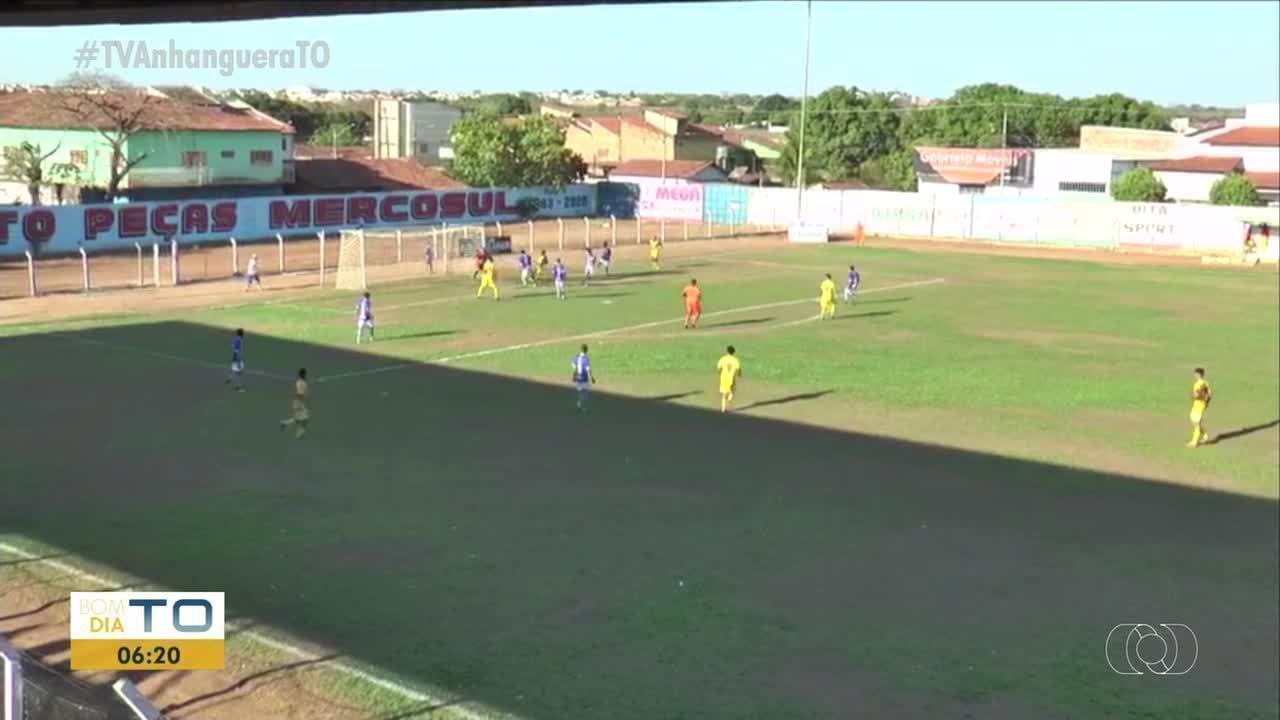 Interporto vence Castelo de 4 x 0 pelo Estadual Sub-19