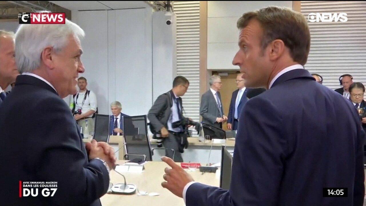 Macron é gravado reclamando da postura de Bolsonaro