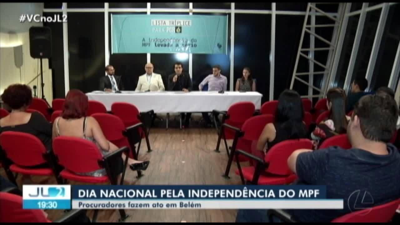 Procuradores da República participam de ato em Belém pela independência do MPF