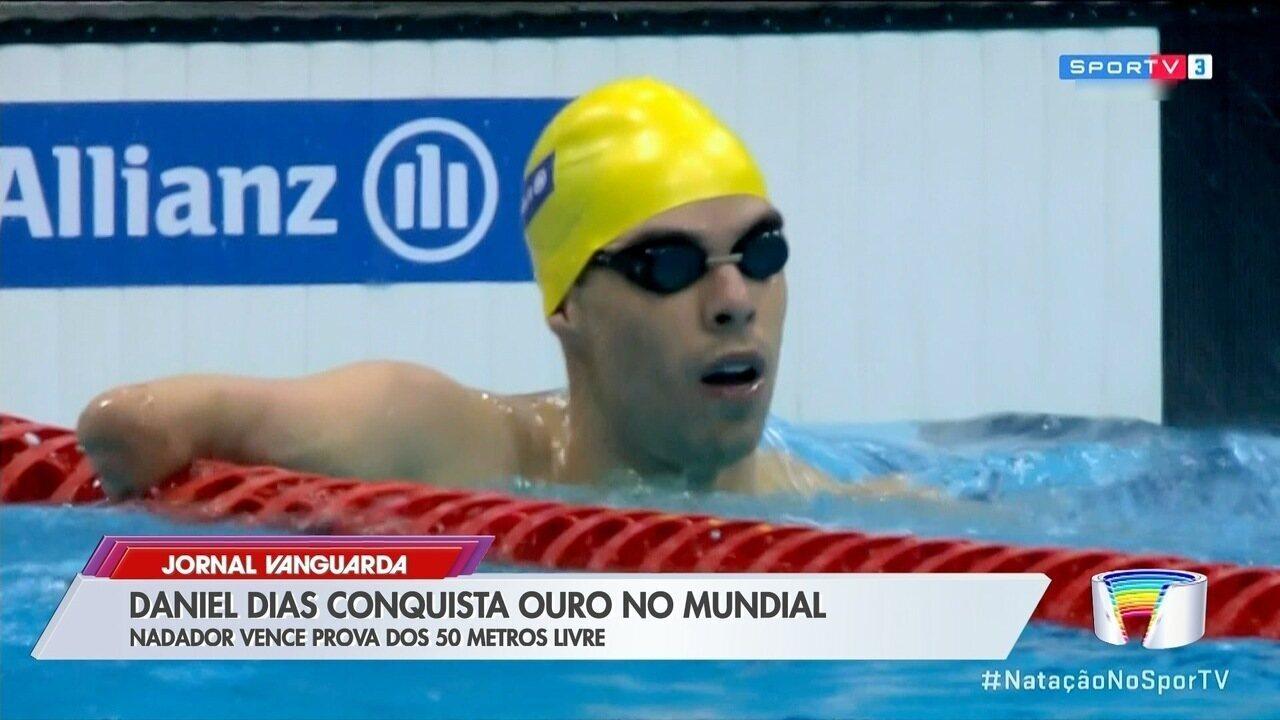 Nadador Daniel Dias conquista mais um título de campeão do mundo