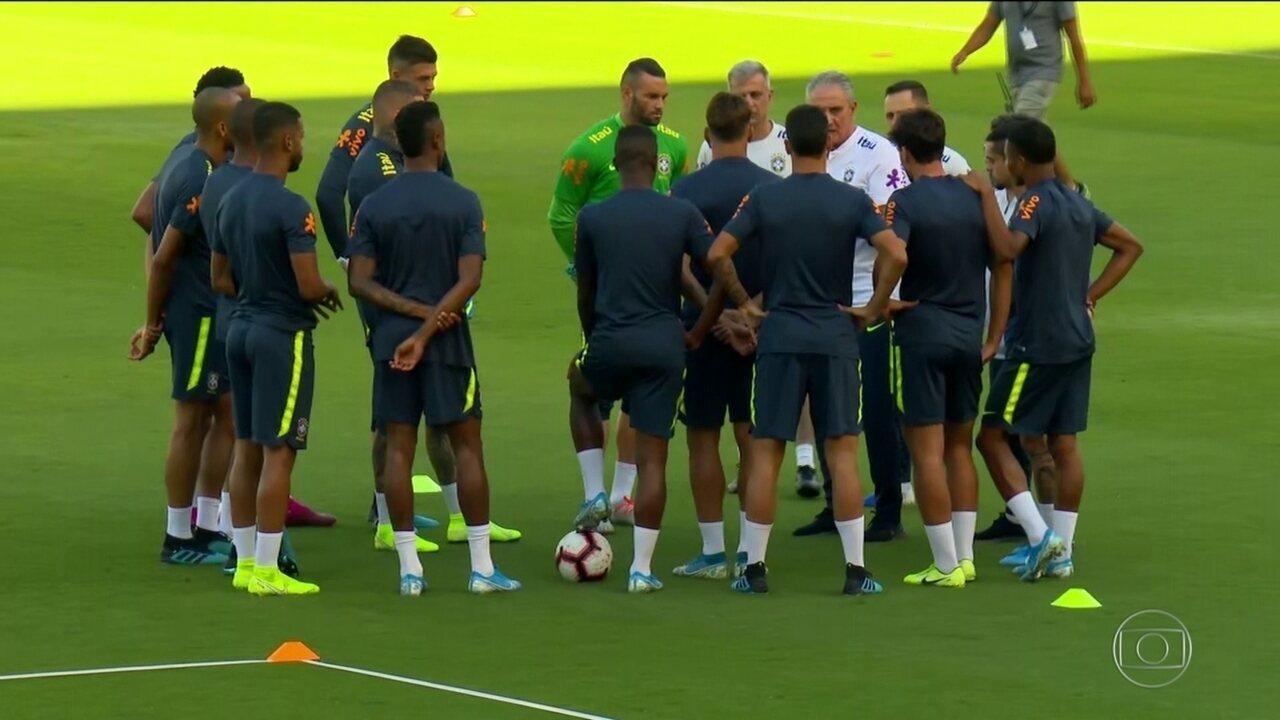 Seleção Brasileira vai enfrentar o Peru, em Los Angeles