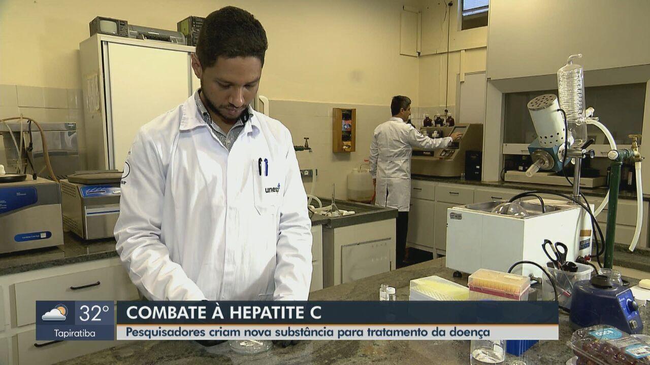 Pesquisador de Araraquara cria molécula mais eficiente contra o vírus da hepatite C