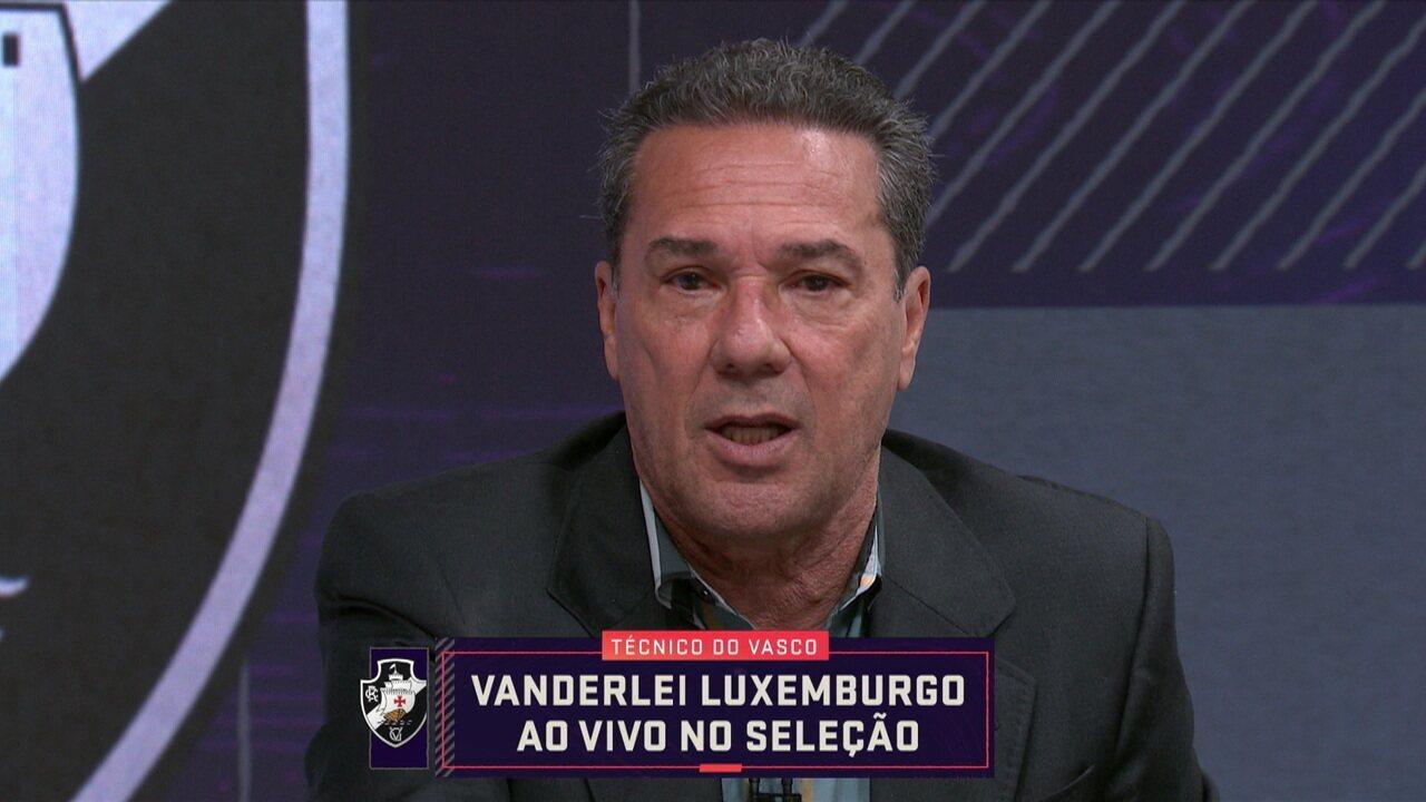 """Luxemburgo deixa recado para torcida do Vasco: """"Proposta é se manter na primeira divisão"""""""