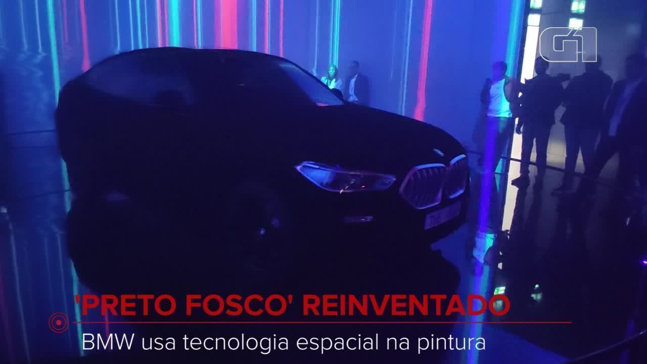 Frankfurt Motor Show: Meet the BMW with non-reflecting paint
