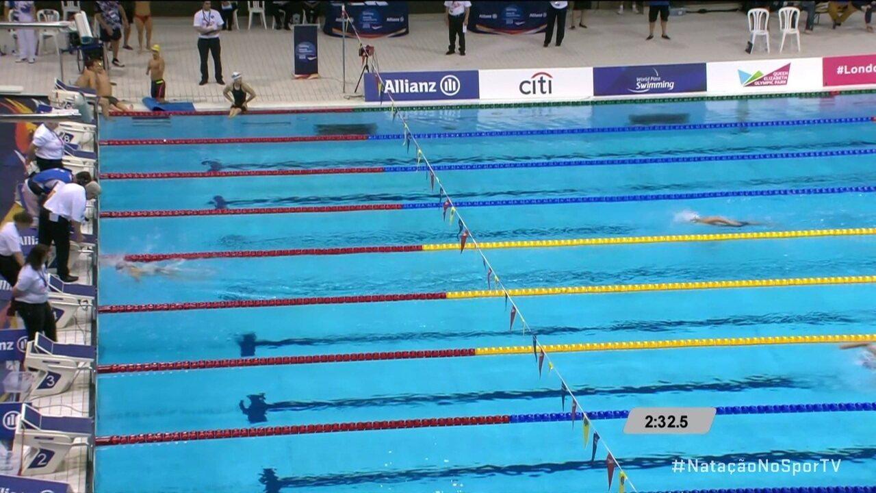 China leva ouro no revezamento 4x50 no Mundial de Natação Paralímpica em Londres