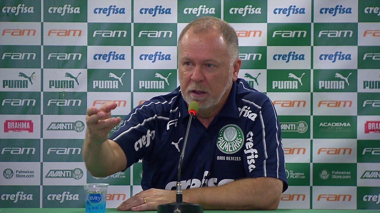 Mano Menezes comenta vitória palmeirense sobre o Fluminense