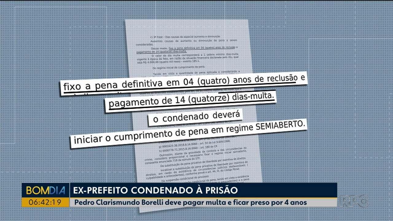 Ex-prefeito é condenado por receptação de carga roubada