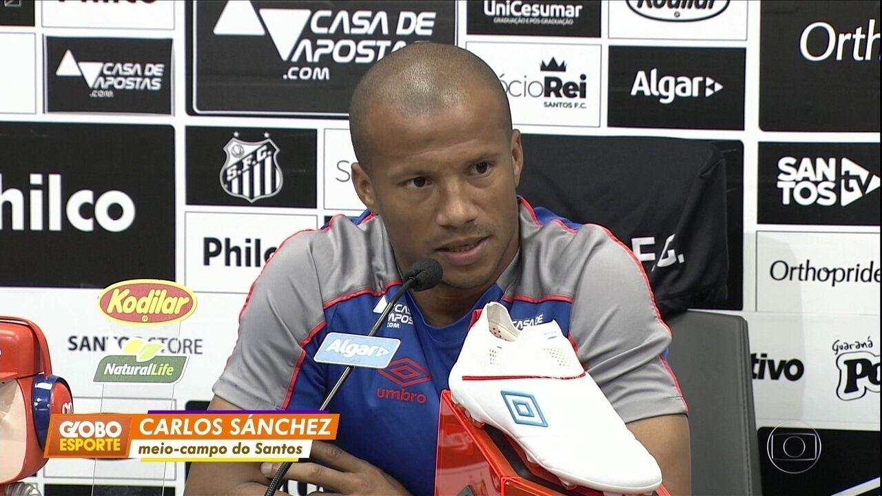 Sánchez fala sobre preparação para o jogo contra o Flamengo