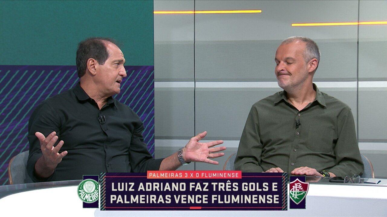 Muricy analisa situação do Fluminense e deixa claro que Ganso e Nenê precisam jogar livres