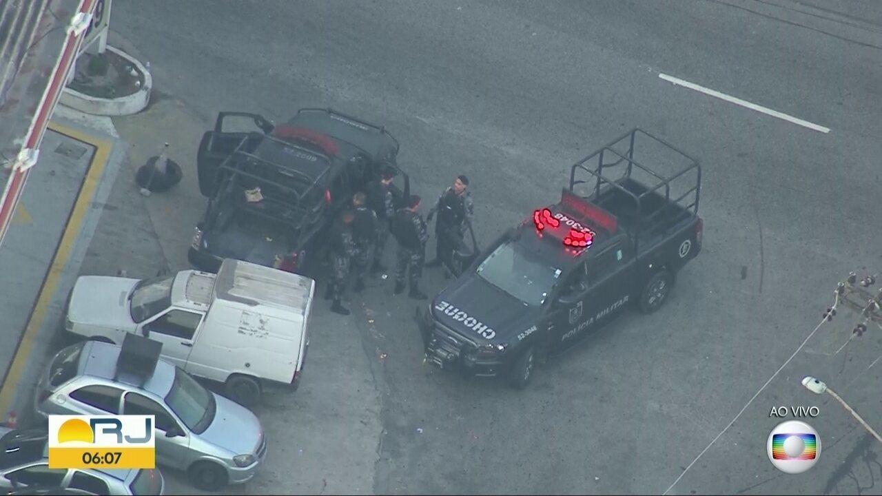 Polícia Militar realiza operação na Cidade de Deus