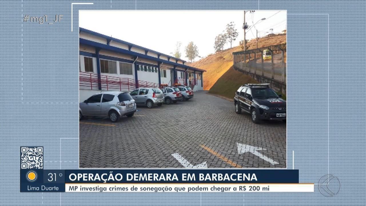 Operação 'Demerara' cumpre mandados em Barbacena por sonegação de impostos