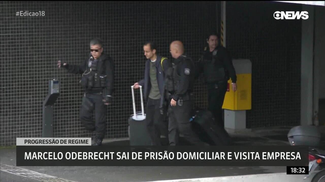 Marcelo Odebrecht visita empresa após progressão de regime