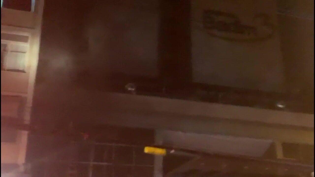 Incêndio atinge o Hospital Badim, no Maracanã