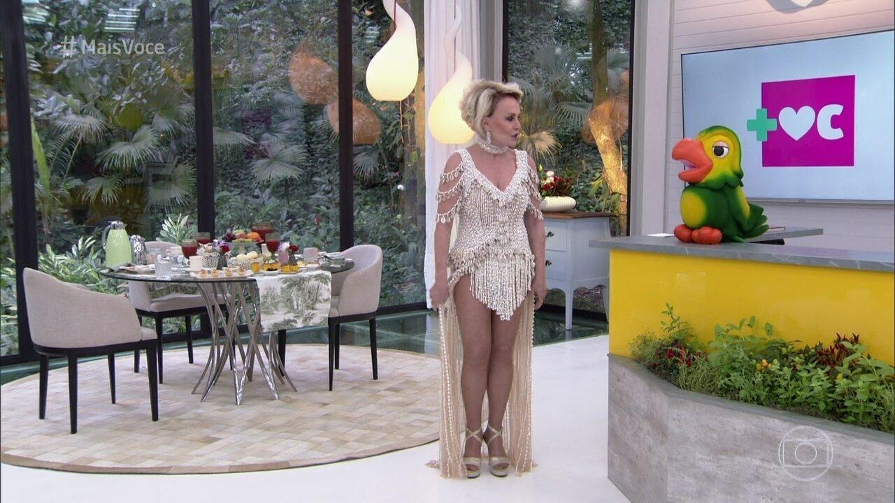 Ana Maria usa réplica de vestido da Beyoncé
