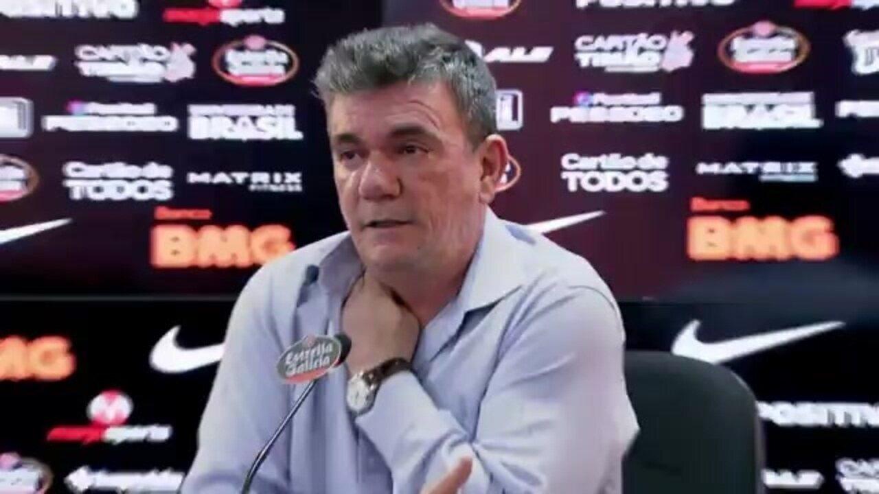 Andrés Sanchez explica problemas com a Caixa na Arena Corinthians