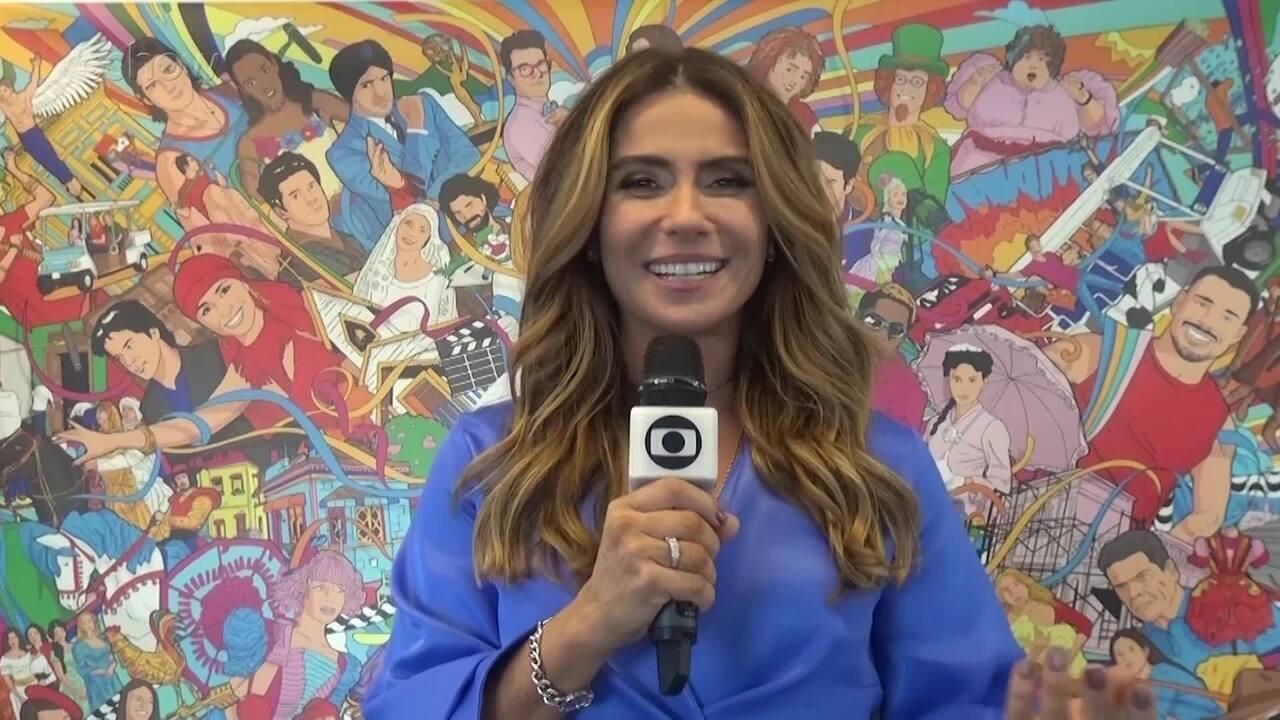Giovanna Antonelli conta curiosidades em Portugal