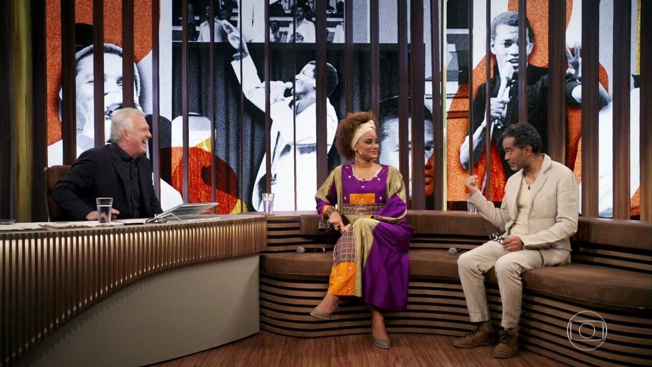 Luciana Mello e Jair Oliveira falam sobre a morte de Jair Rodrigues