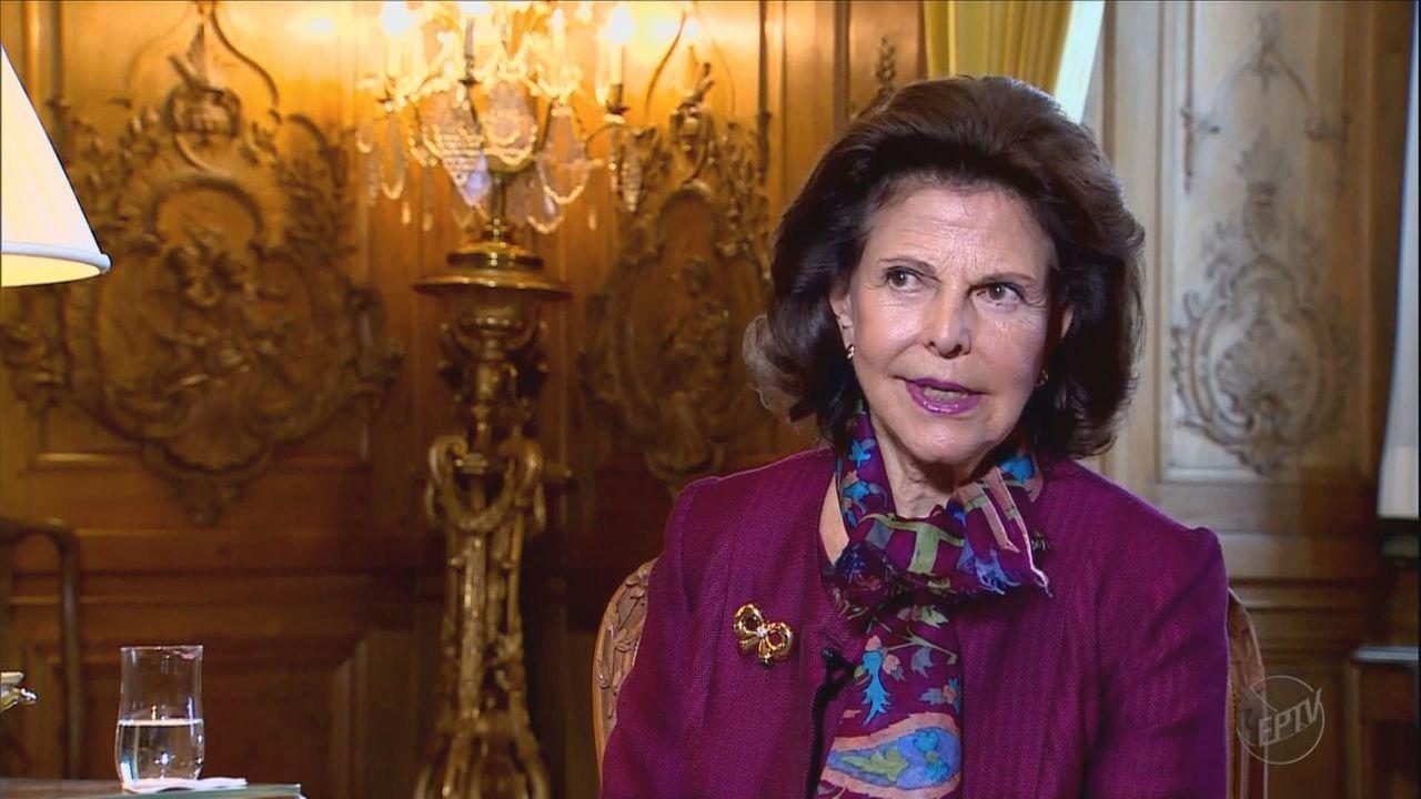 Rainha da Suécia fala sobre os laços com o Brasil